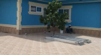 Luxury four bedroom house for sale with boys quarter, security room, air conditioning rooms, wi-fi, Jacuzzi, spacious compound for parking and swimming pool in a serene environment.