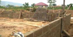 2 plots fenced and gated land behind WASS school
