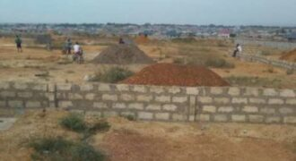 Apollonia main road land on sale @100,000ghs & 120000ghs per plot
