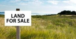 1 Acre of land for sale at Cantonment